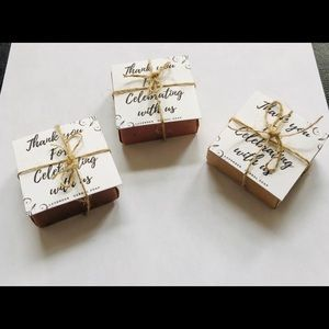 Micro-wedding Herbal soap favours